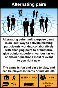 Alternating pairs