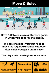 Move and solve