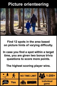 Picture orienteering