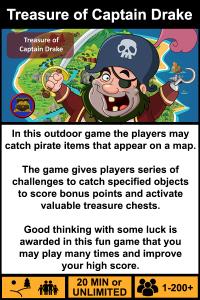 Treasure of captain drake