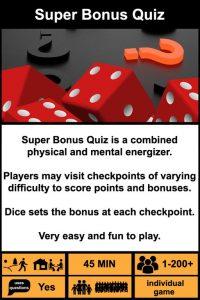 Super bonus quiz